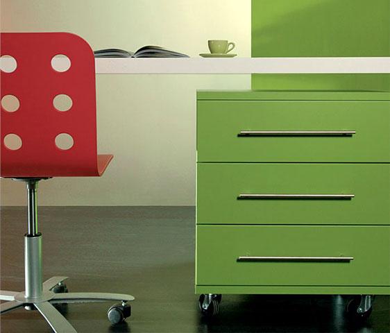 City mobili contenitore moderni e colorati per corner for Arredamento nail center