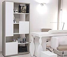 Librerie espositore moderne componibili colorate per for Arredamento nail center