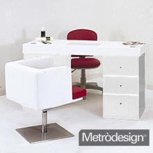Vendita promozionale di tavoli usati riportati a nuovo per nail center metr design arredamento - Tavolo ricostruzione unghie con aspiratore usato ...