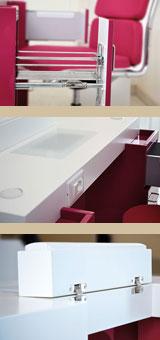 Offerta arredamento completo per area manicure design for Arredamento nail center