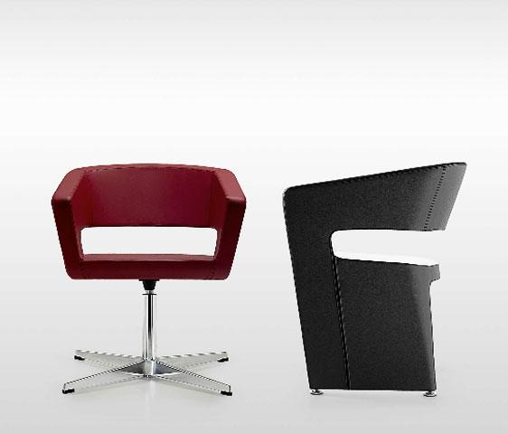 Poltroncine colorate dal design innovativo per l 39 area - Poltroncine di design ...
