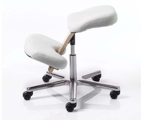Beautiful seduta ergonomica con meccanismo a gas per la - Sgabello ergonomico ikea ...