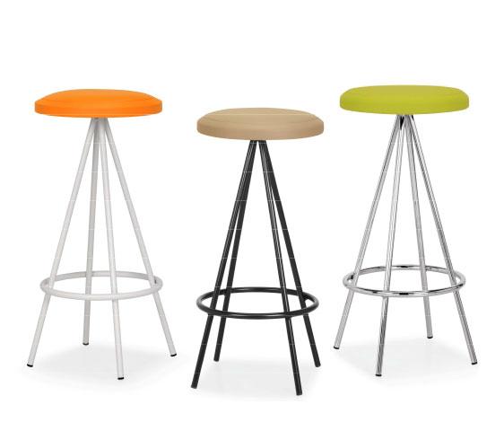 Metr design arredamento per nail center for Sgabelli colorati