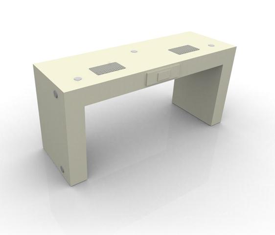 Tavolo unghie con postazioni multiple per nail center e nail school metr design arredamento - Tavolo per unghie usato ...