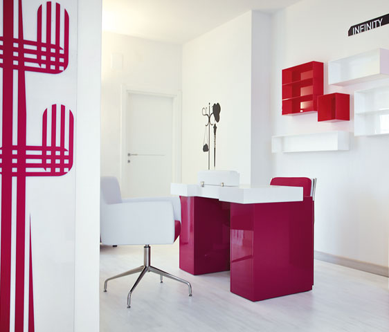 Tavolo per ricostruzione unghie new square metr design - Tavolo con aspiratore per manicure ricostruzione unghie ...